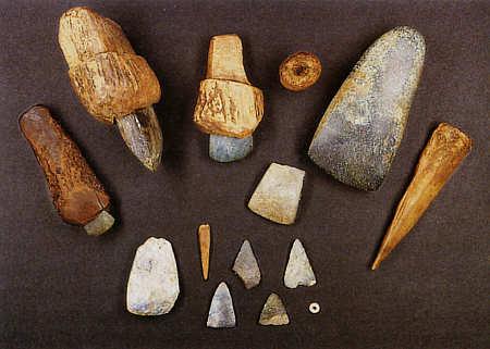 Steinzeit gegenstände